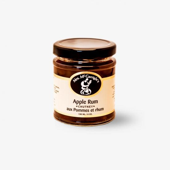 Mrs. McGarrigle's Apple Rum Chutney