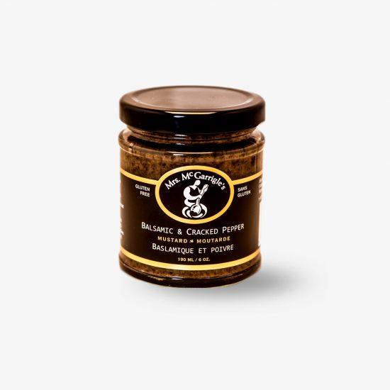 160ml Balsamic Cracked Pepper Mustard