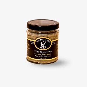 Mrs. McGarrigle's Wine Peppercorn Mustard