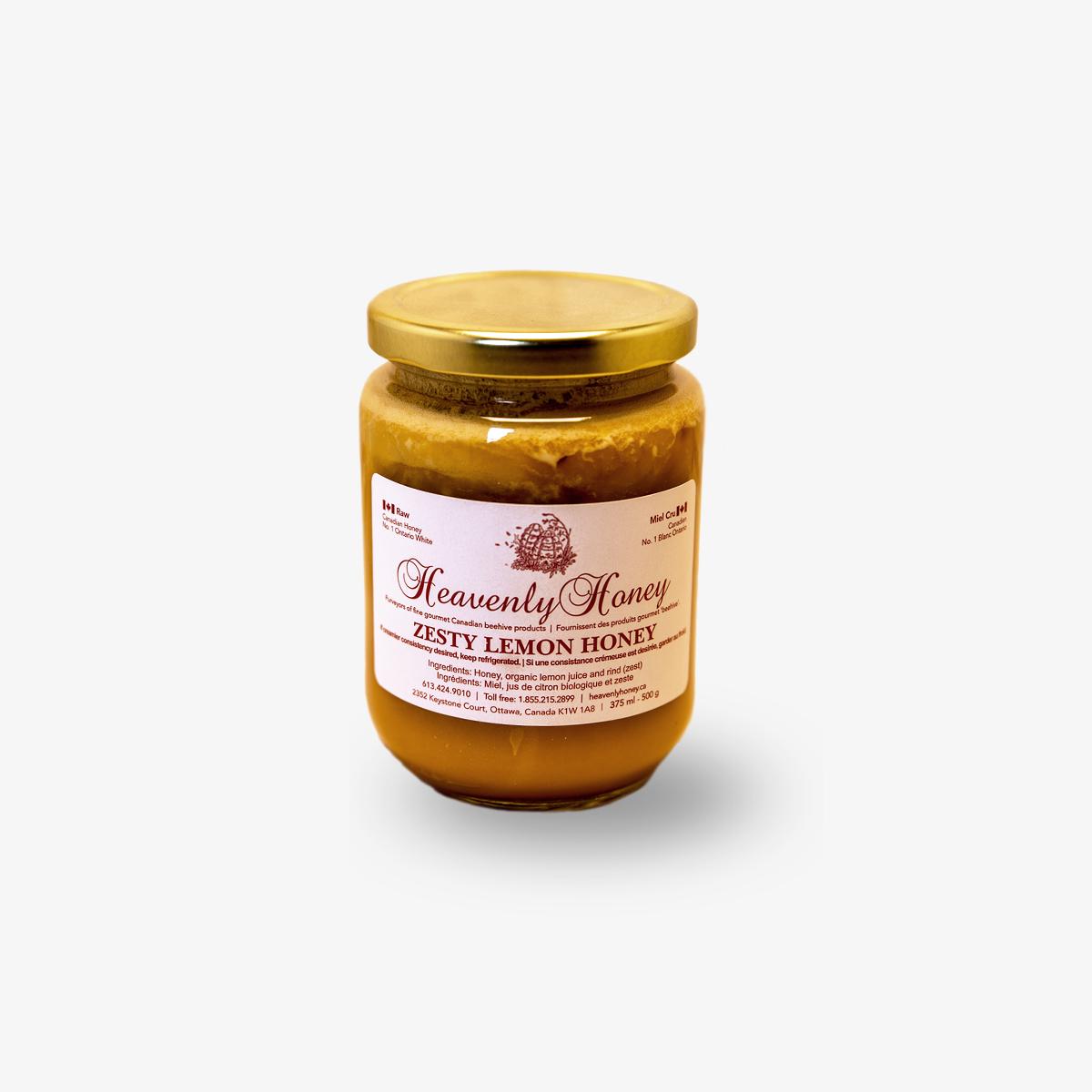 Heavenly Honey Lemon Zest Honey