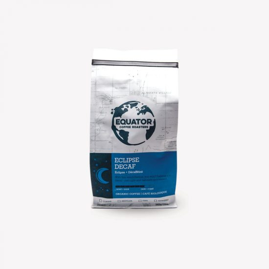 Equator Coffee Roasters Eclipse Decaf Coffee