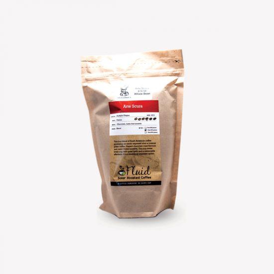 Fluid Solar Roasted Coffee Arte Scura Coffee