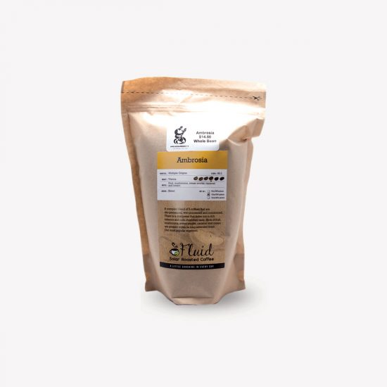 Fluid Solar Roasted Coffee Ambrosia Coffee