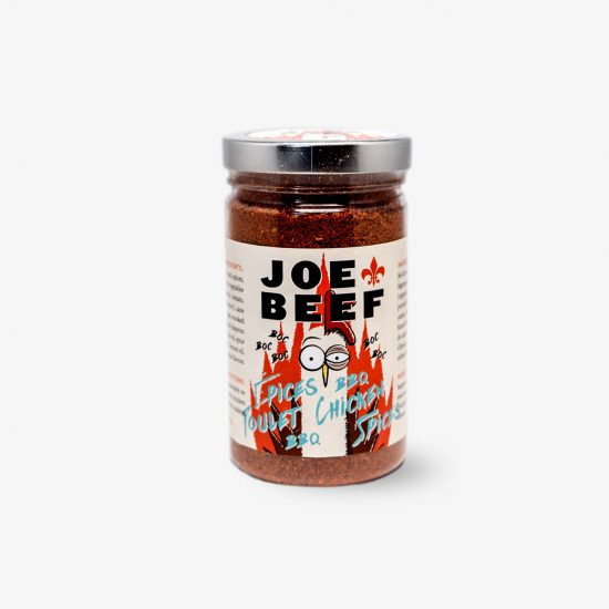 Joe Beef BBQ Chicken Spice