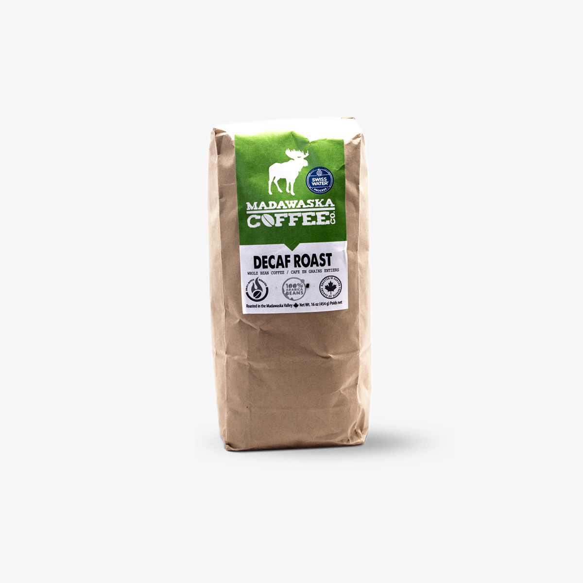 Madawaska Coffee Co. Decaf Roast Coffee