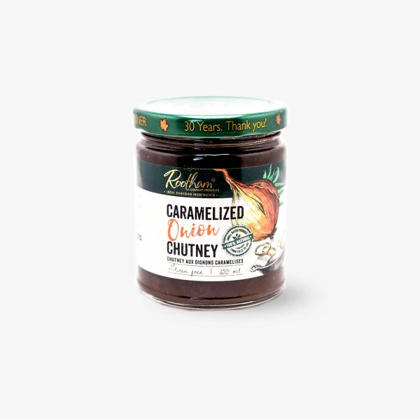 Rootham Gourmet Preserves Carmelized Onion Chutney