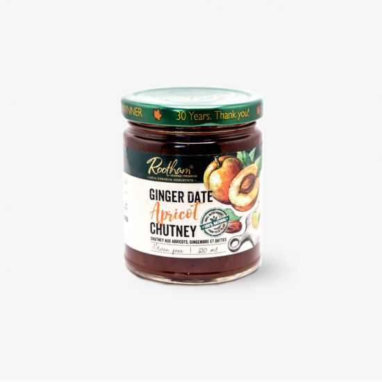 Rootham Gourmet Preserves Ginger Date Apricot Chutney