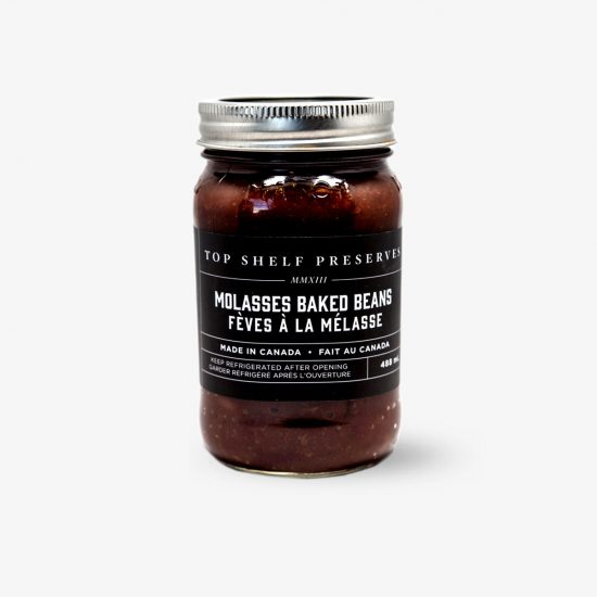 Top Shelf Preserves Molasses Baked Beans