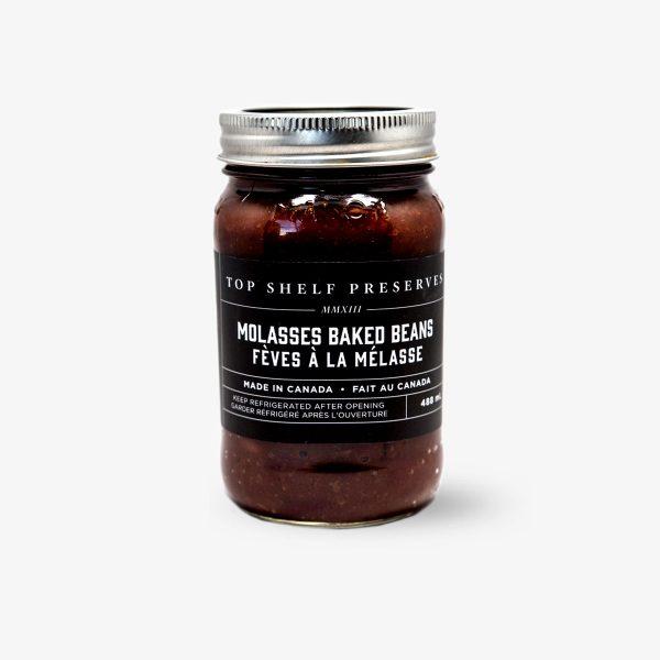 Top Shelf Preserves Molasses Baked Beans