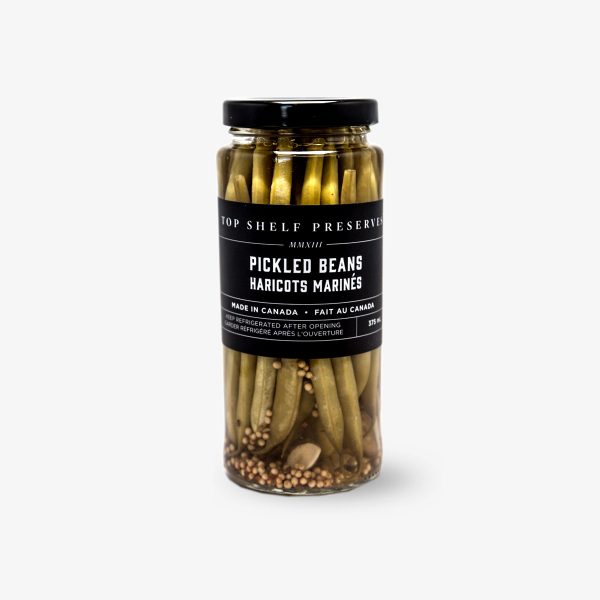 Top Shelf Preserves Pickled Beans