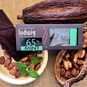 Ludwig mint chocolate bar